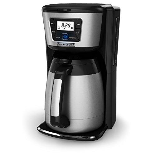 BLACKDECKER 12-Cup Thermal Coffeemaker BlackSilver CM2035B