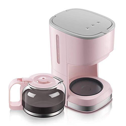 Encounter-K Mini Coffee Machine  5 CupCoffee MakerPink American Drip Type Home Coffee Maker 07 L Insulation Glass Coffee Maker