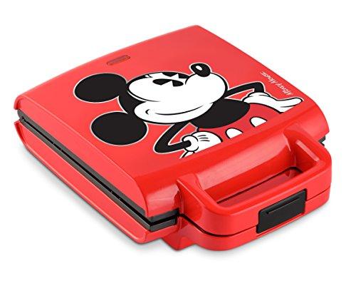 Disney DCM-41 Classic Mickey Waffle Stick Maker Red