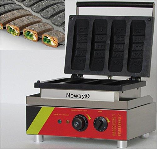 Newtry NP-525 Electric Muffin hot dog machine waffle maker egg machine Waffle Maker Waffle Stick Maker 220V