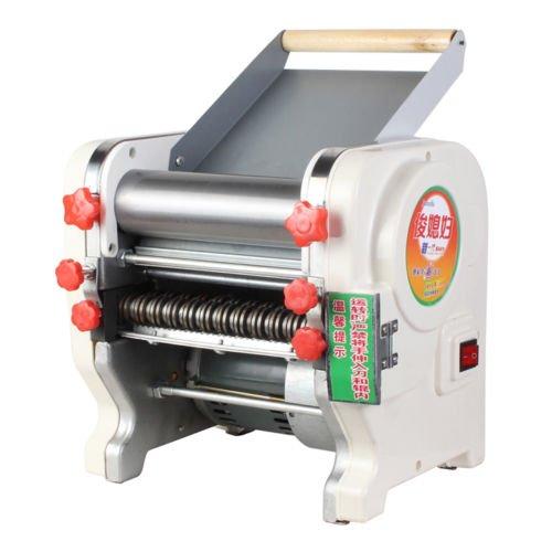 220V Electric Pasta Maker Noodles Roller Machine for Home Restaurant Commercial - Width 200mm
