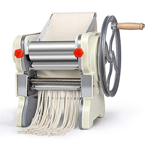 Pasta Maker Machine Manual Pasta Maker Machine Pasta Crank Stainless Steel Pasta Roller Machine Noodle Maker Pasta Cutters Make Fresh Spaghetti or Fettuccini  Color  Silver  Size  34X24X205CM