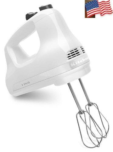 KitchenAid KHM5APWH 5-Speed Ultra Power Hand Mixer White