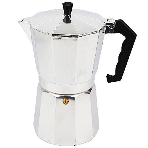 ATWFS Espresso Coffee Pots 36 Cups Aluminum Moka Pot Coffee Maker Moka Espresso Cup