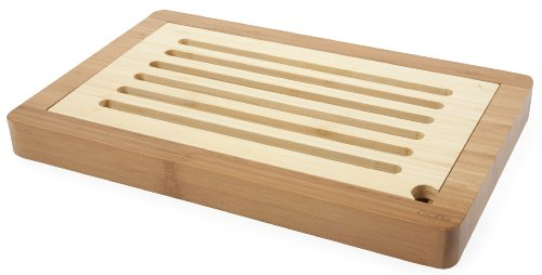 Core Bamboo Slotted Bread Board Natural
