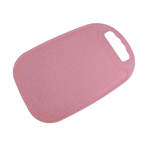 Cutting Board Kitchen Chopping Block for Meat Vegetables Fish Cooked Food Safe Stylish Color Nordic Pink