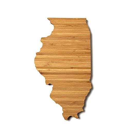 Illinois State Shaped Cutting Board Mini