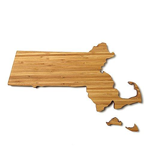 Massachusetts State Shaped Cutting Board Mini