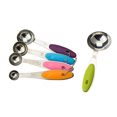 Generic 5pcs set Stainless Steel Kitchen Cooking Measuring Spoon Baking Utensil