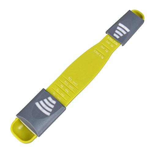 Measuring Spoon for Measuring DryLiquid IngredientsCreative Double End Adjustable Scale Eight Stalls Metric SpoonGram ML Metering SpoonCup for BakingCookingCoffeeSugarSaltMilkPowderSpices