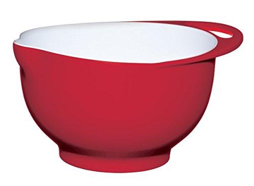 Colourworks Large Melamine Mixing Bowl Red