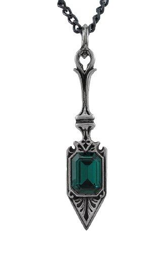 Alchemy Gothic Sucre Vert Absinthe Spoon Pendant W/ Necklace