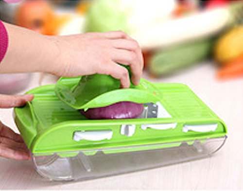 Professional Mandoline Slicer With Stainless Steel V Blade, Julienne Slicer, Grater - Vegetable Slicer - Cheese