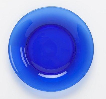 Mosser Glass 10 Cobalt Blue Dinner Plate by Mosser Glass