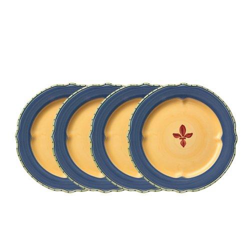Pfaltzgraff Pistoulet Blue Dinner Plate 10-34-Inch Set of 4