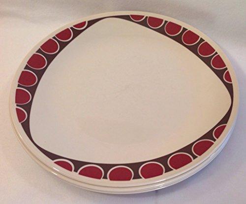 Corelle Kitu Pattern Dinner Plates Set of 4