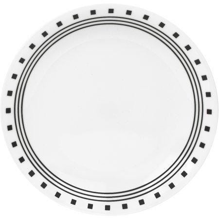 Corelle Livingware Lunch Plates City Block Set of 6 Made of Vitrelle