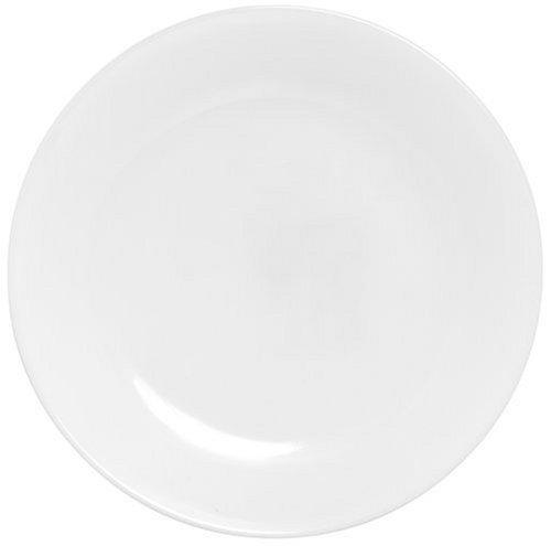 Corelle Livingware Luncheon Plate Winter Frost White  Size 8-12-Inch