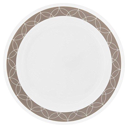 Corelle Livingware Sand Sketch 85 Lunch Plate Set of 4