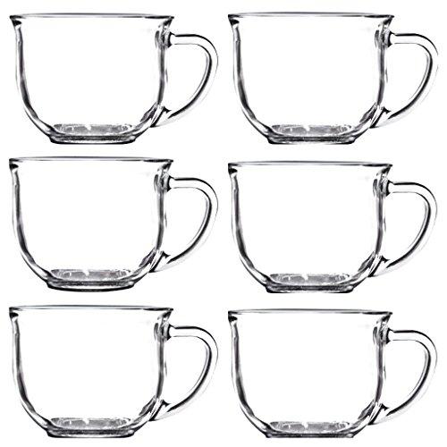 Clear Glass Soup Bowls 6