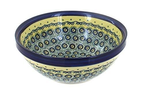 Polish Pottery Small Serving Bowl DU1