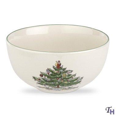 Spode Christmas Tree Individual FruitSalad Bowl 55