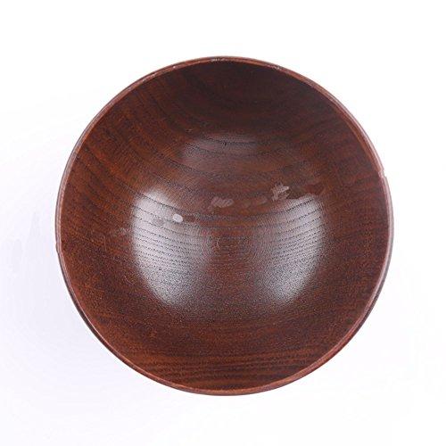 Handmade Jujube Solid Wood Bowl Set of 4
