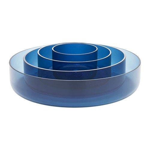 Ikea Serving bowl set of 4 blue 1228112914306
