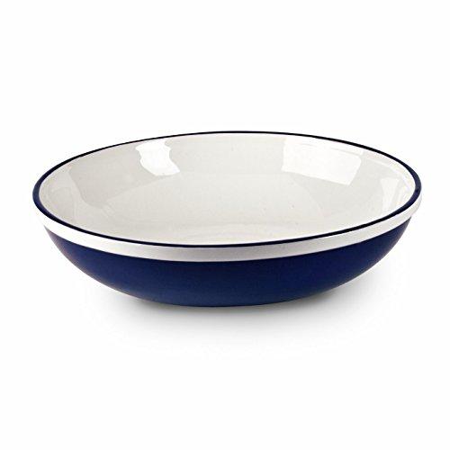 Mr Food Test Kitchen 12 Blue Serving Bowl