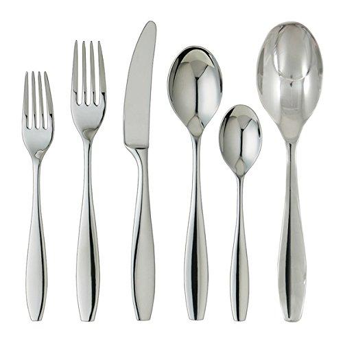 Ginkgo Skandia 42-piece Stainless Steel Flatware and Hostess Set