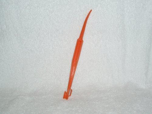1 X Pampered Chef Citrus Peeler In Bright Orange Color