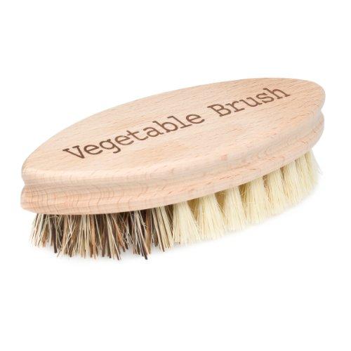 Bürstenhaus Redecker 5-1/4 Inch Hard And Soft Side Vegetable Brush