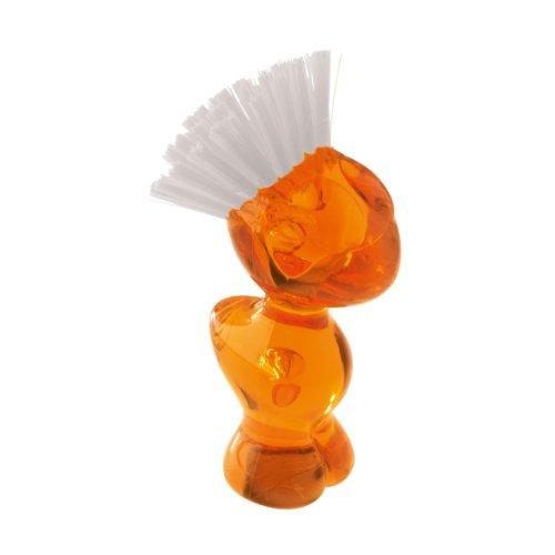 Koziol,tweetie 5029509 Orange Vegetable Brush, 2,76x2,6x5,08-inch