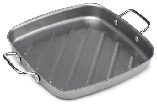 Bull 24120 11-Inch Non-Stick Square Grill Pan Silver