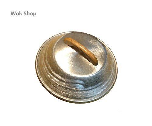Wok Shop Aluminum Flat Wok LidCover 13 Inch For 14 Wok