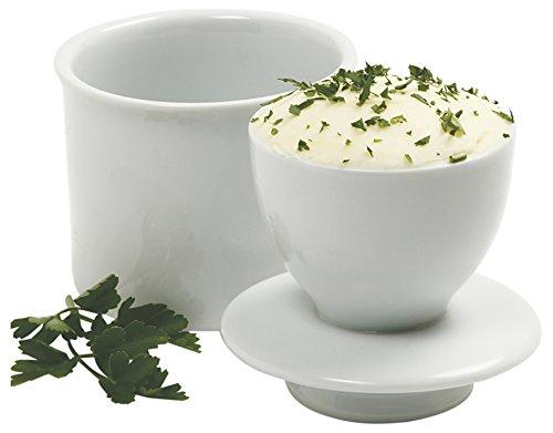 Norpro Porcelain Butter Keeper White