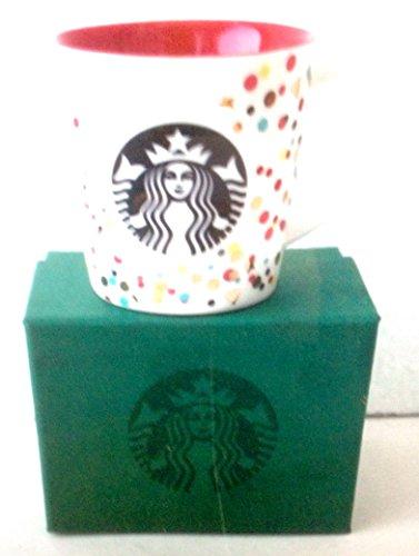 Starbucks Confetti Holiday Espresso Mug 3 Ounce