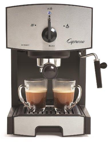 Capresso 11705 Stainless Steel Pump Espresso and Cappuccino Machine EC50 BlackStainless