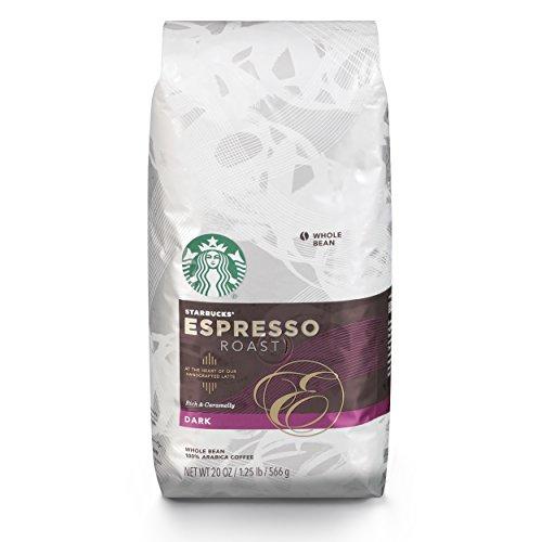 Starbucks Espresso Dark Roast Whole Bean Coffee 20-Ounce Bag