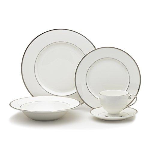 Mikasa Cameo Platinum 40-Piece Dinnerware Set Service for 8