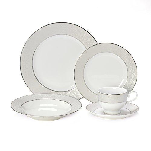 Mikasa Parchment 40-Piece Dinnerware Set Service for 8