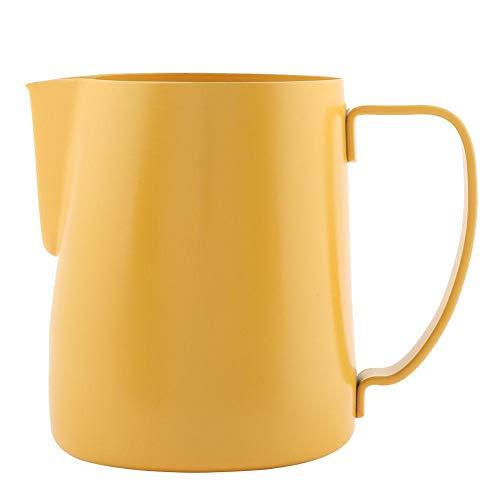 Alinory Stainless Steel Milk Pitcher600cc Stainless Steel Milk Frothing Pitcher Latte Coffee Cup Mug Jug