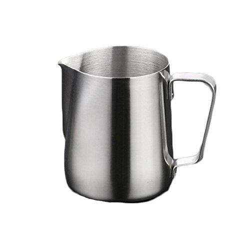 Milk Jug Stainless Steel Coffee Latte Milk Frothing Pitcher Large Size - 52 oz 15L Milk Foaming Jug