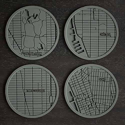 New York City Icon Urban Coaster Gift Set