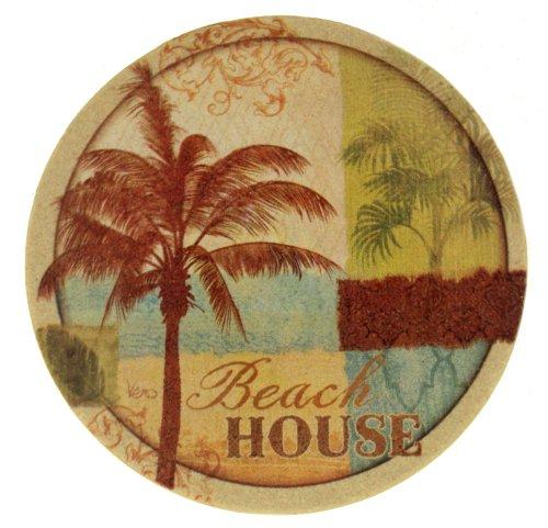 Thirstystone Drink Coaster Set Palm Resort
