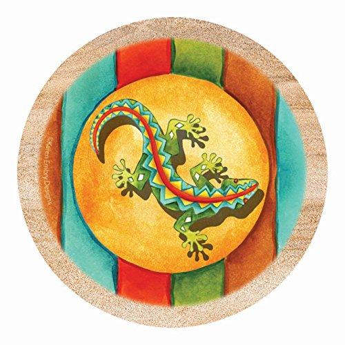 Thirstystone Drink Coaster Set Southwest Gecko