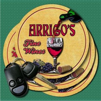 ARRIGOS Fine Wines Coasters - Set of 4