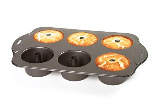 Norpro 3975 Nonstick 6 Cup Mini Angel Food Bundt Cake Kitchen Baking Bake Pan