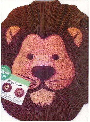 Wilton Cake Pan Jungle Lion 2105-2095 1994