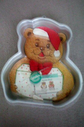 Santa Bear Cake Pan